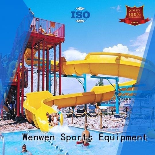 Wenwen best water slides kid for amusement park