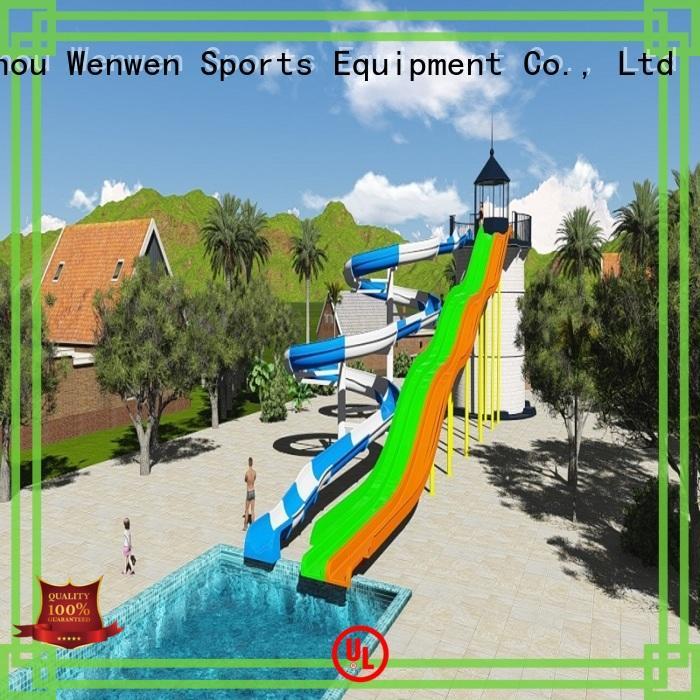 funny fiberglass pool slide for sale combination online