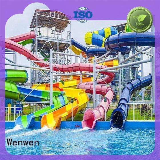 aqua water slide ride supply for hotel