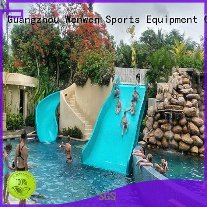 family tall water slides commercial for resort