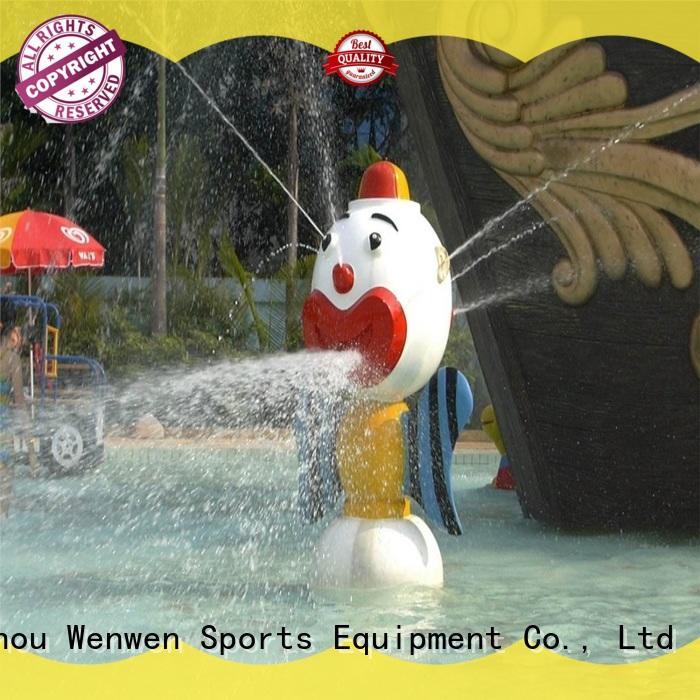 Professional design fiberglass water splash pad for kids spray park