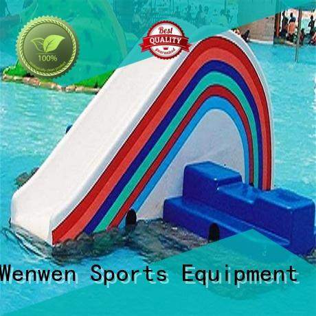 rainbow kids water slide company for water park