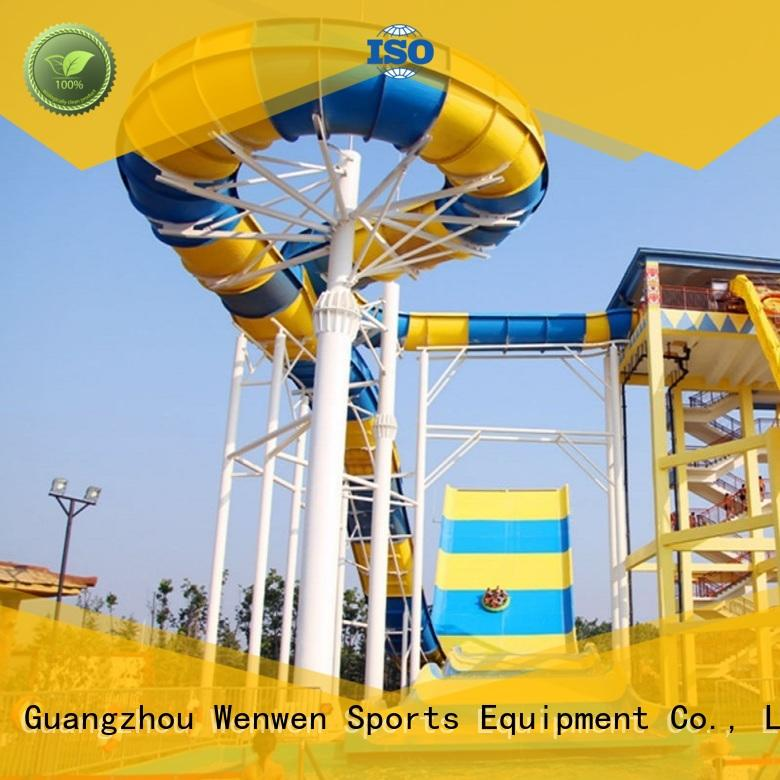 boomerang fiberglass swimming pool slide equipment for amusement park