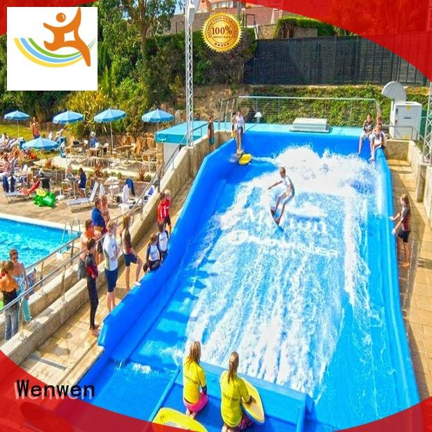 Wenwen exciting large water slide supplier for adults