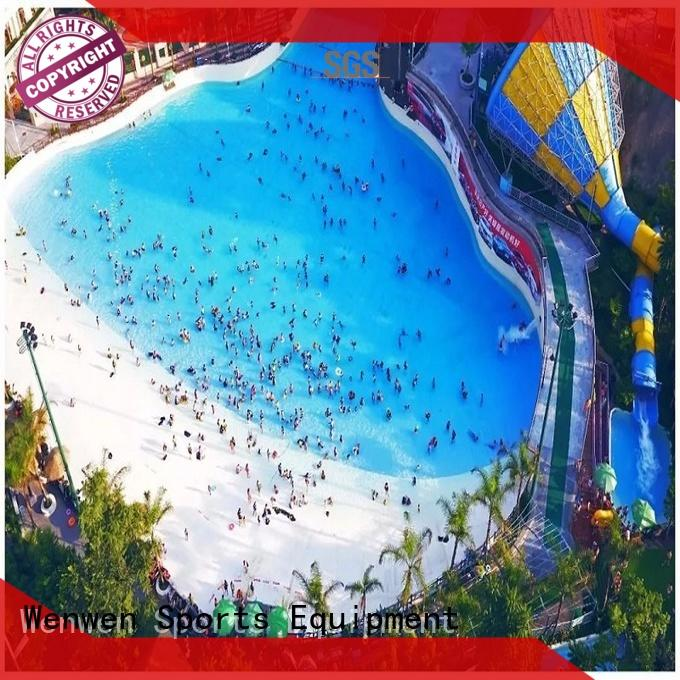 Wenwen pneumatic big wave pool blowing for resort