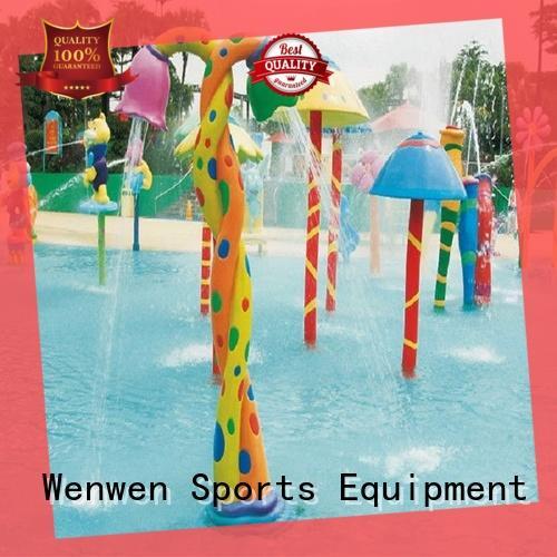 Wenwen splash pad equipment for water park