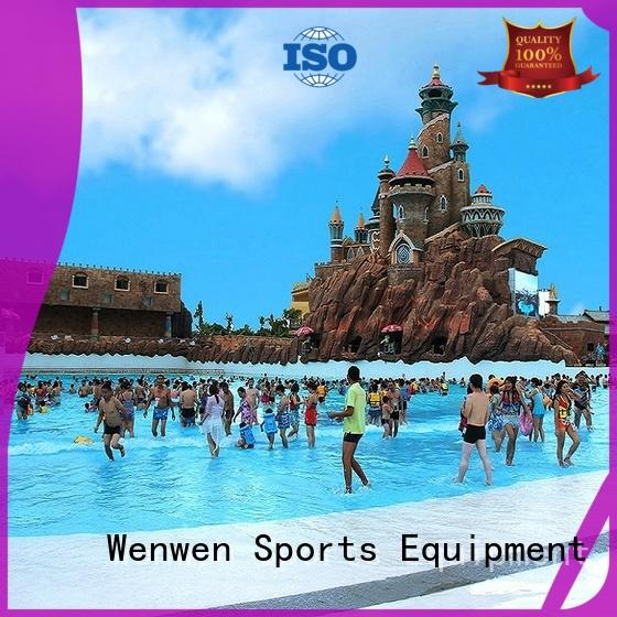 Wenwen Brand park tsunami the wave pool manufacture