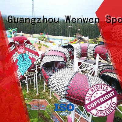 Wenwen cobra commercial fiberglass water slides for sale fiberglass theme