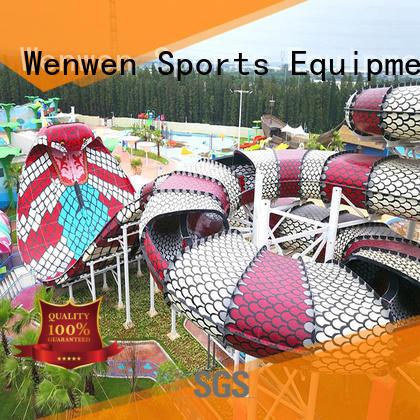 safe commercial fiberglass water slides for sale supplier for amusement park