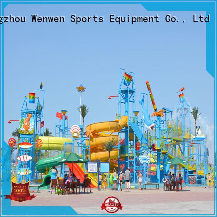 aquatic huge water playground equipment for hotel