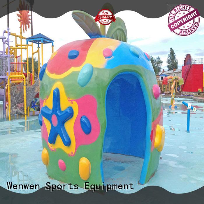 Wenwen kids splash pad park equipment online