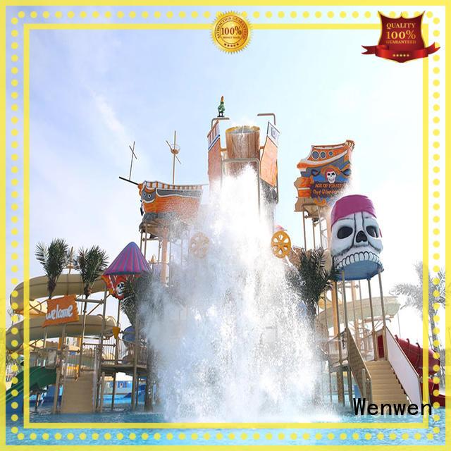 Wenwen water water park playground slide water