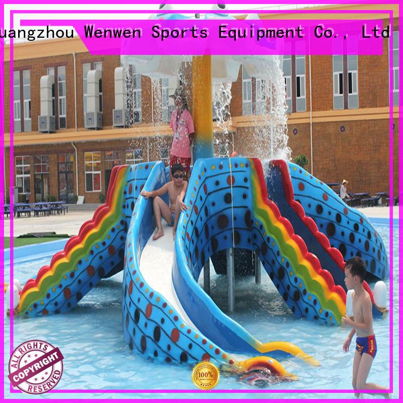 kids water slide material for theme park Wenwen