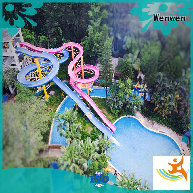 aqua enclosed water slide swimming pool for holiday