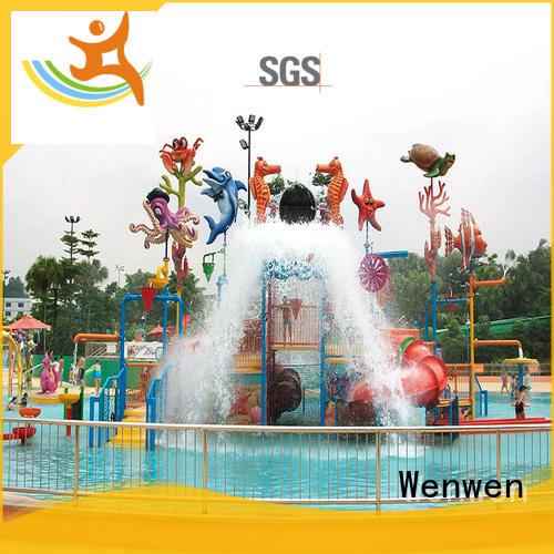 indoor water park equipment house Wenwen Brand