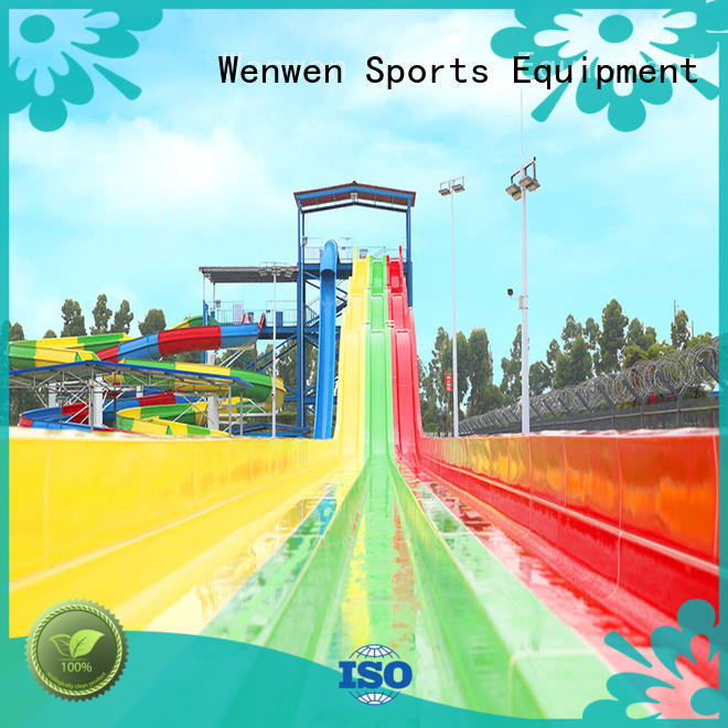 Wenwen colorful large fiberglass water slides for sale experience for sale