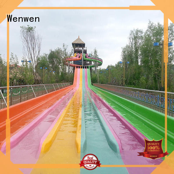cool water slides manufacturer for theme park Wenwen