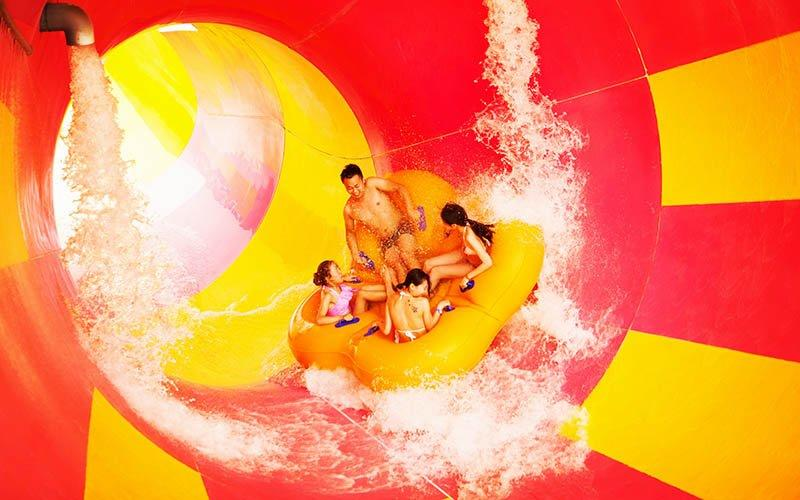 Custom hotel cheap water slides slide Wenwen