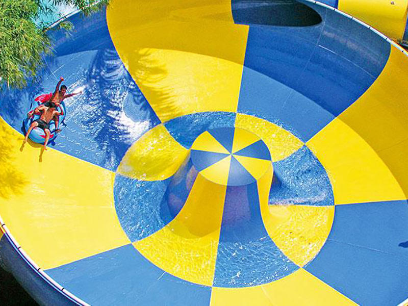 Behemoth Bowl Water Slide For Aqua Park Construction Commercial Swimming Pool Slides