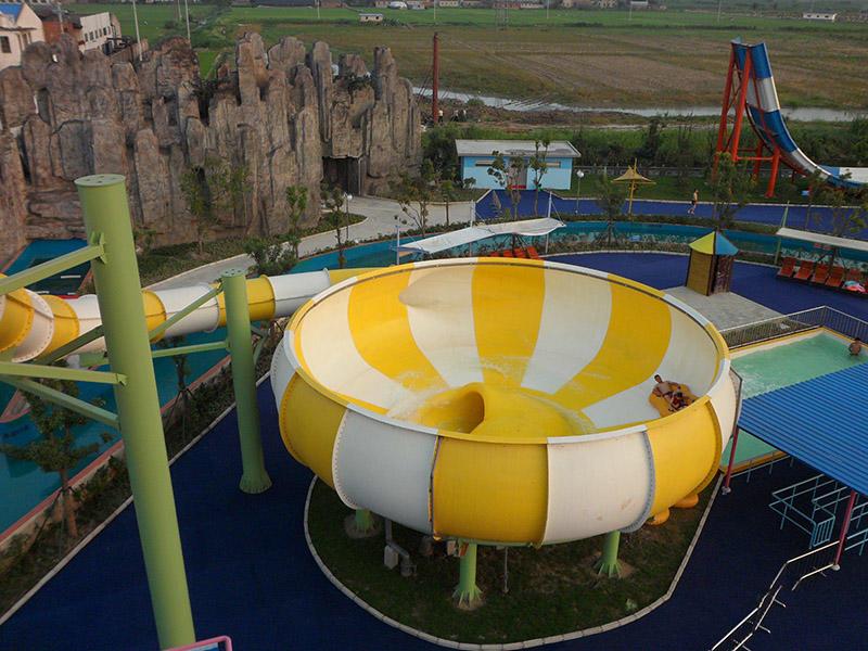 Super Bowl Water Slide for Amusement Park / Aqua Park