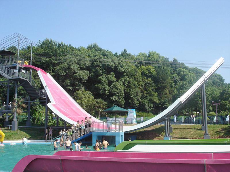 U-waving Water Slide For Adult Commercial Swimming Pool Slides