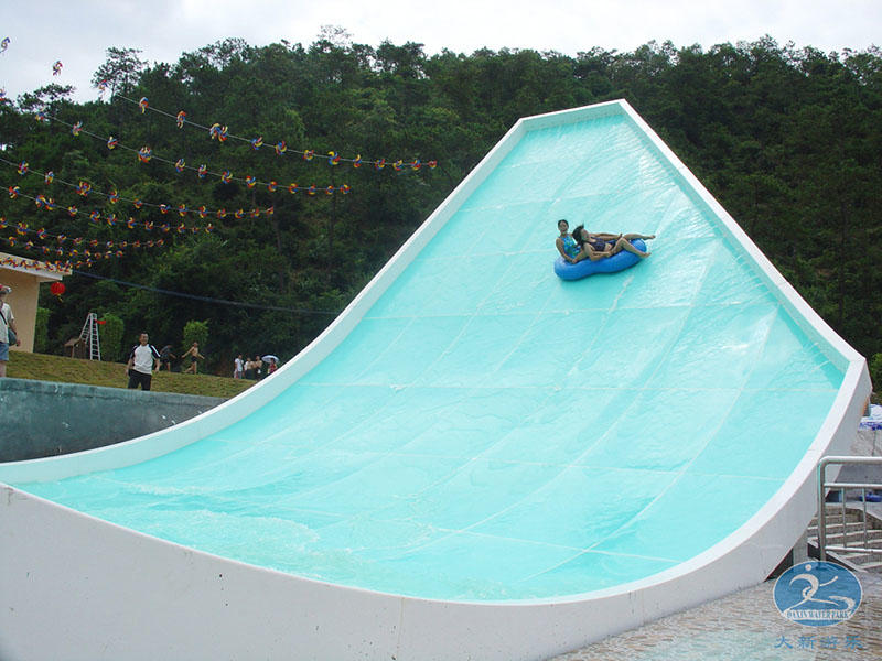 U-waving Water Slide For Adult Commercial Swimming Pool Slides