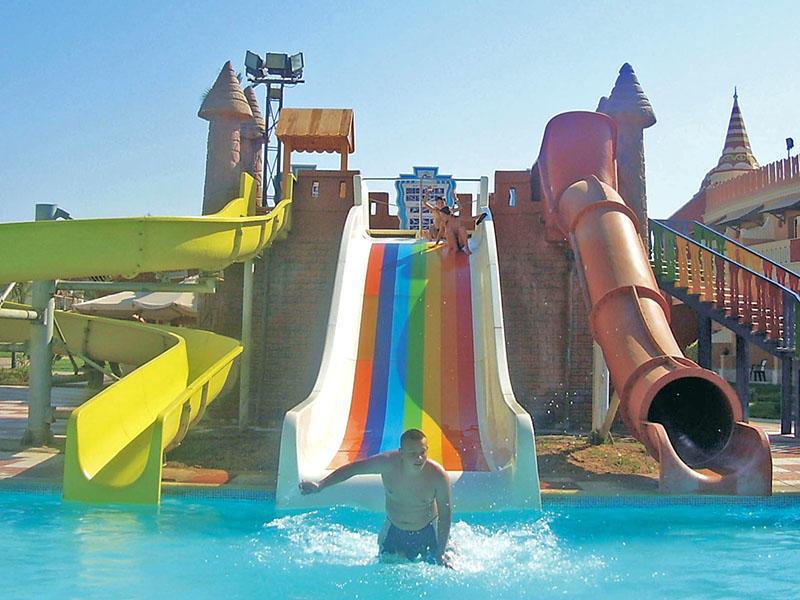 Outdoor Sled Barrel Water Slide Customized  Fiberglass Water Slide Water Park Design