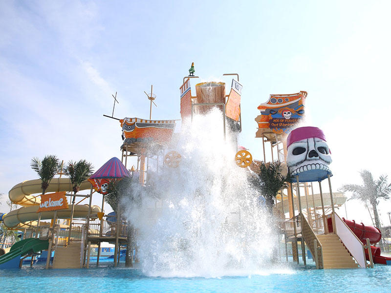 house playground parks with water interactive play Wenwen Brand