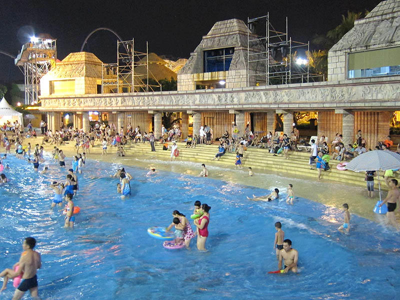 Water Park Tsunami Wave Pool Family Commercial Swimming Pool Equipment For Holiday Resort