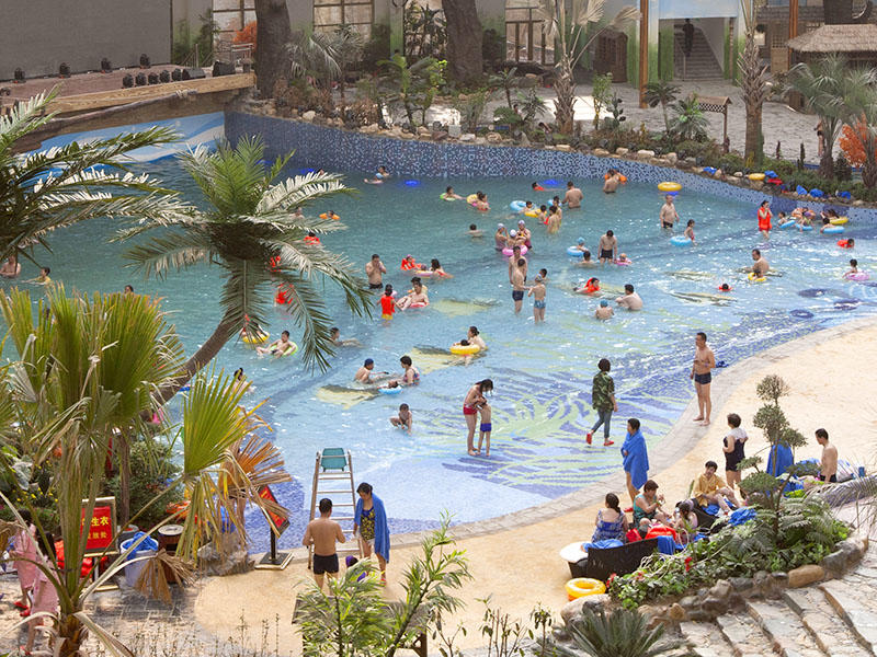 Artificial Wave Pool Outdoor Water Park Wave Machine Durable Air Blowing Surf Wave For Hotel Beach