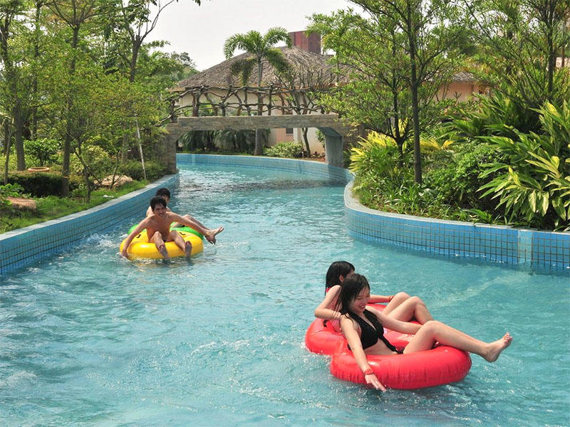 Water Park Lazy River For Family Lazy River Swimming Pool Amusement Park  Equipment