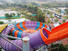 fiberglass outdoor aqua Wenwen Brand kids water slide factory