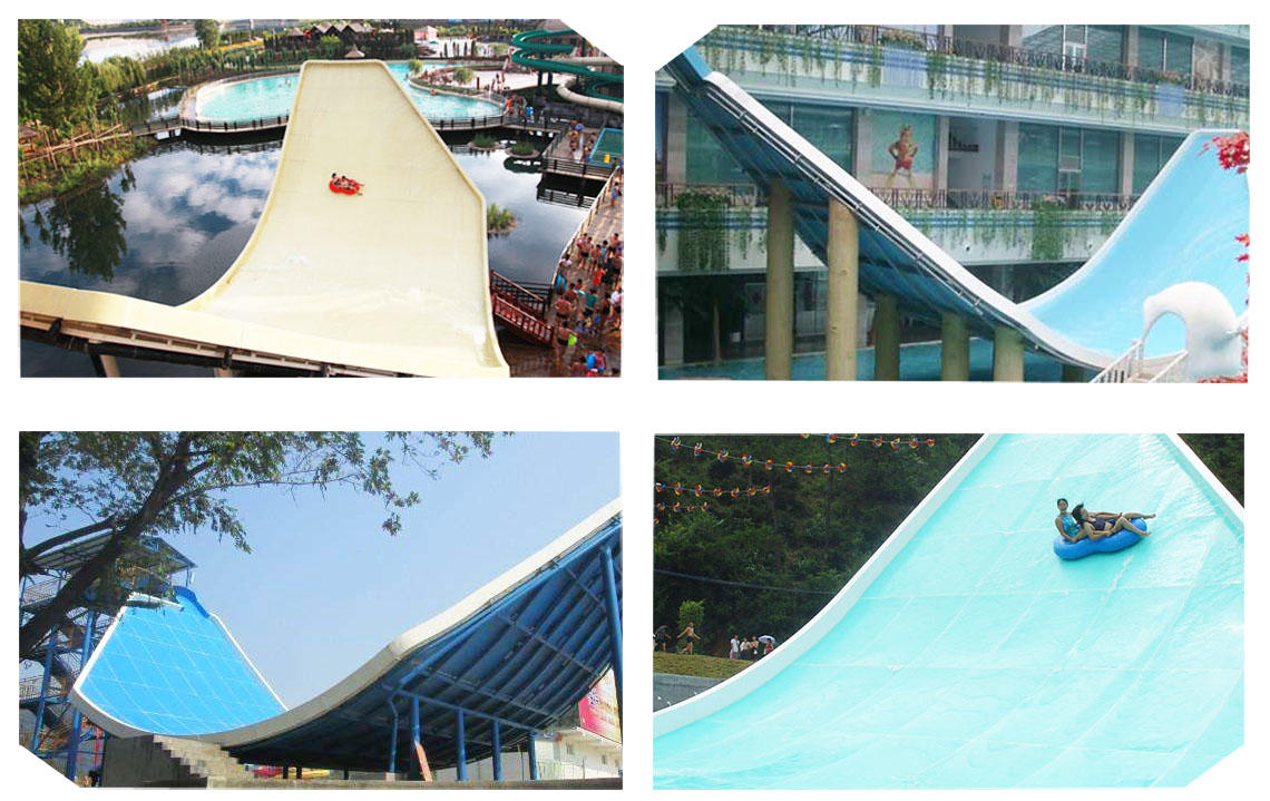 commercial theme giant water slide interesting Wenwen Brand company
