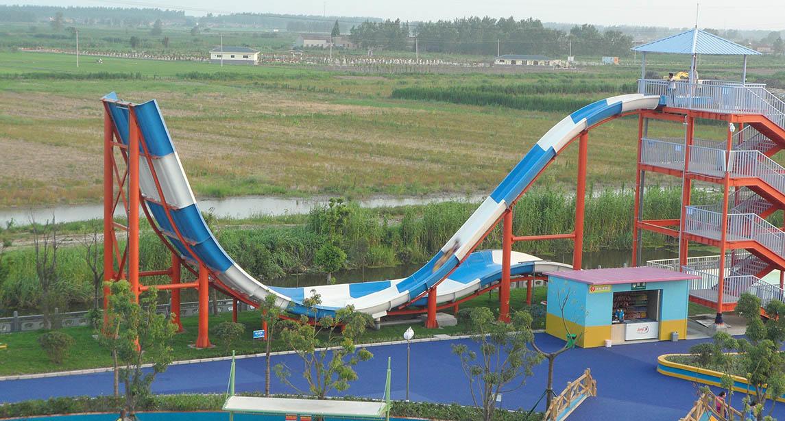 Hot swimming pool water slide project pool Wenwen Brand