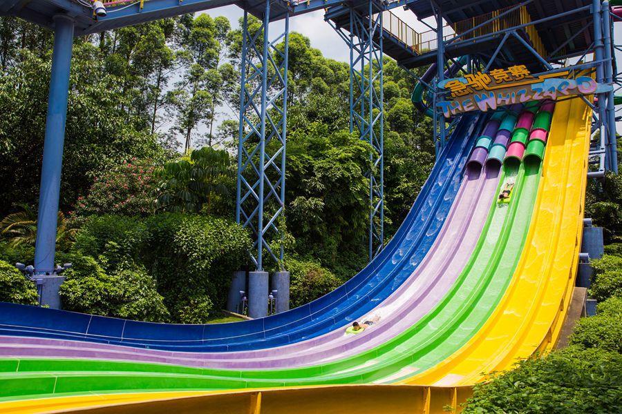Custom slides indoor cool water slides Wenwen frp