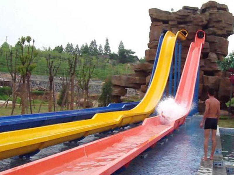 water slide run out design pool outdoor commercial water slides manufacture