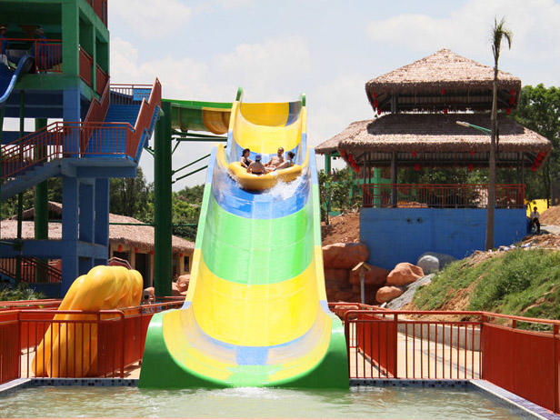 Custom swimming best water slides pool Wenwen