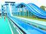 adult customized water slide run out swimming fiberglass Wenwen Brand