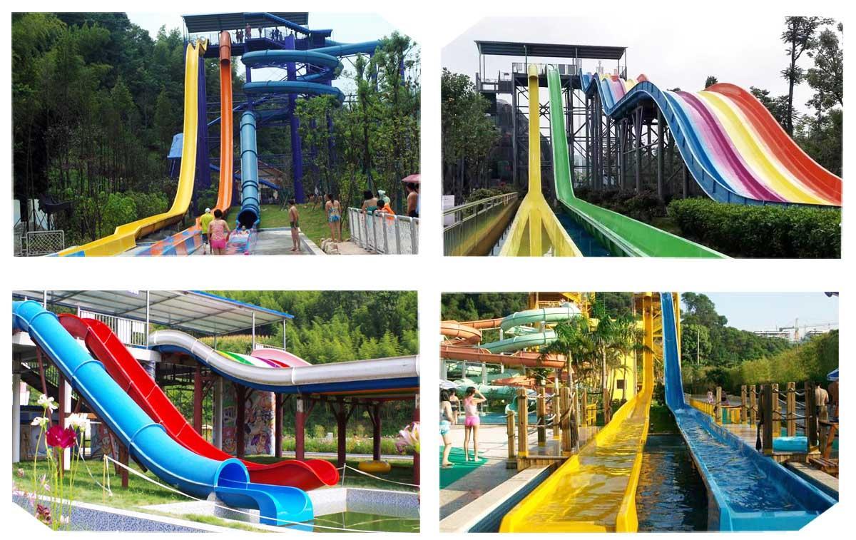 park hotel fiberglass commercial water slides Wenwen Brand company