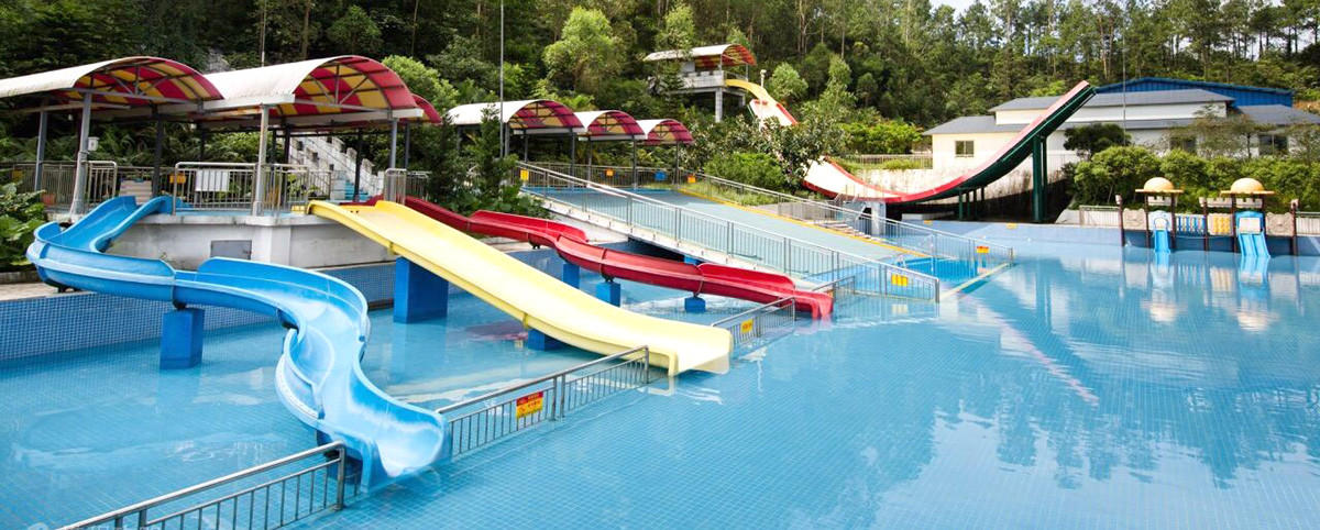 Hot slides best water slides swimming fiberglass Wenwen Brand