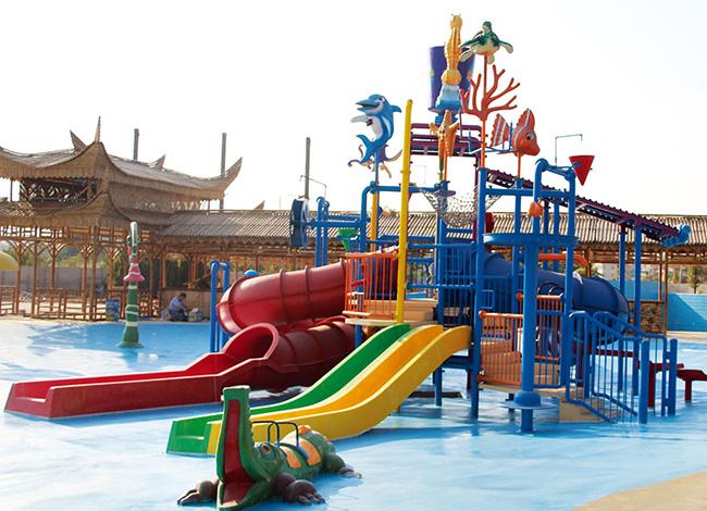 Wenwen outdoor water playground equipment for hotel-9