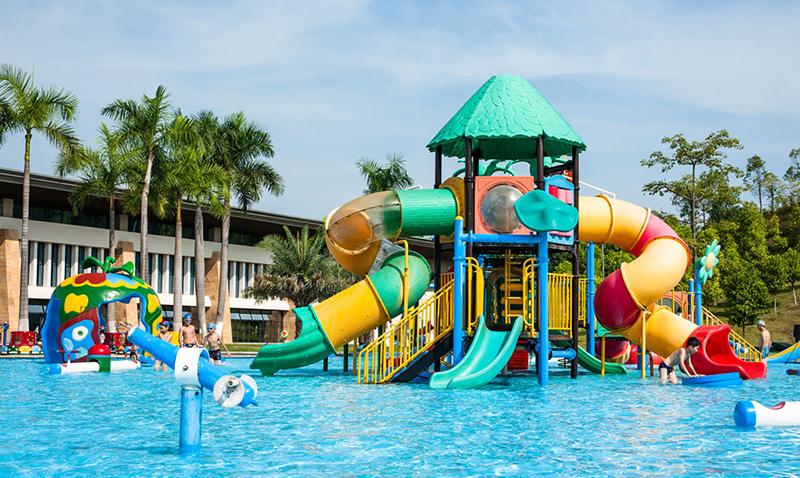 Wenwen outdoor water playground equipment for hotel-10
