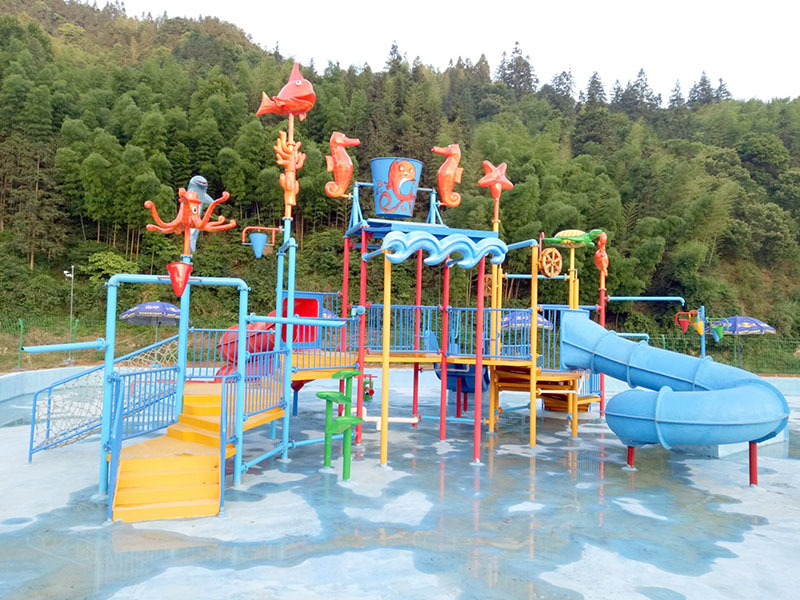 Wenwen outdoor water playground equipment for hotel-14