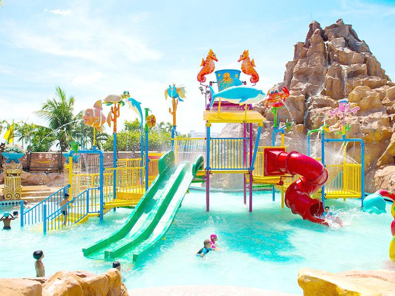 Wenwen outdoor water playground equipment for hotel-13