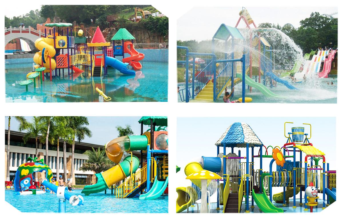 Wenwen outdoor water playground equipment for hotel-17