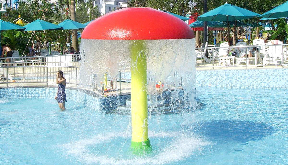 galvanized play splash pad flowing Wenwen Brand company