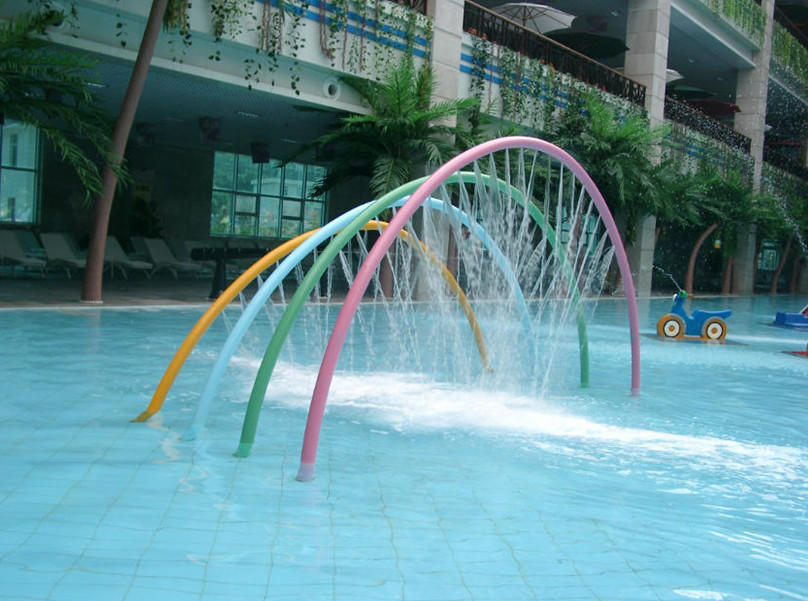 splash pad cost water galvanized Wenwen Brand splash pad