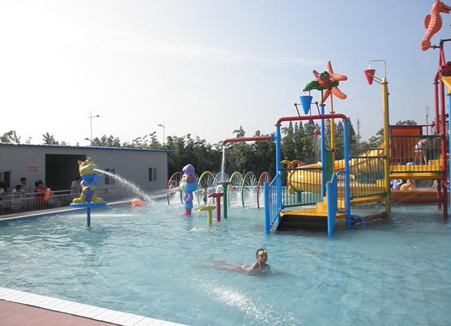 Wenwen outdoor water playground equipment for hotel-8