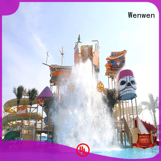 colorful water playground supplier for amusement park