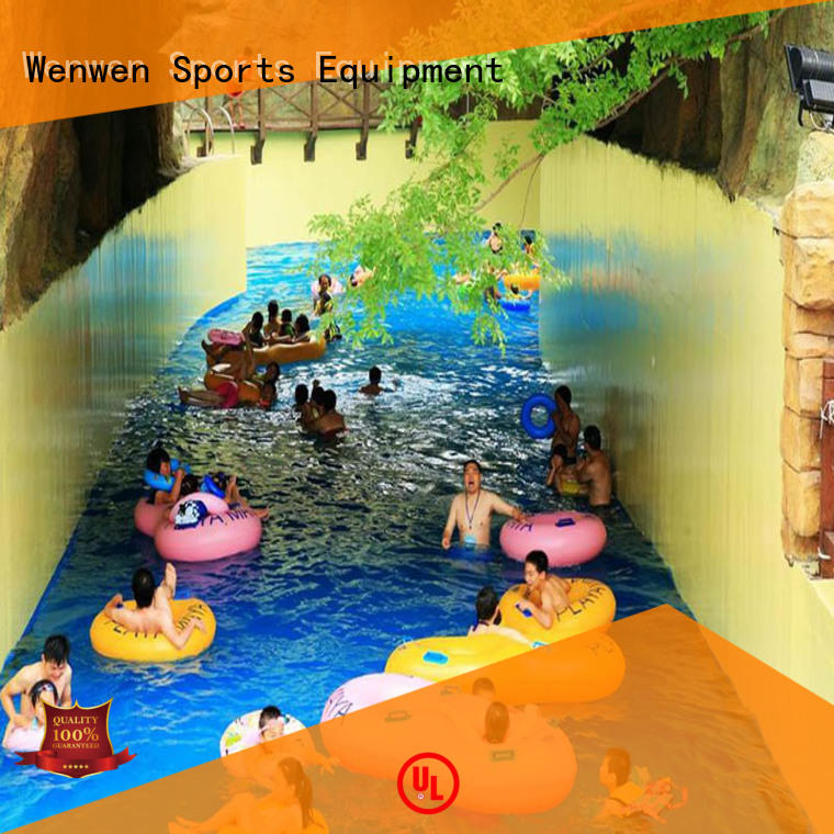 Wenwen lazy river supplier for theme park